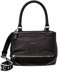 Givenchy - Small 4g Pandora Nylon & Leather Shoulder Bag - Lyst