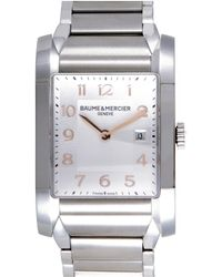 Baume & Mercier - Baume & Mercier Women's Stainless Steel Watch - Lyst