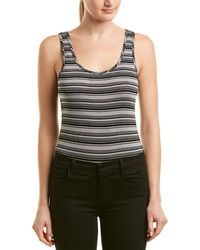 Michael Stars - Striped Bodysuit - Lyst