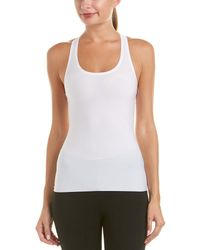 Spanx - ? Perforated Racerback Tank - Lyst