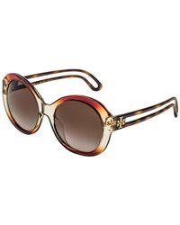 4db157166728 Tory Burch Robinson Butterfly Sunglasses - Lyst