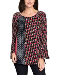 NIC+ZOE - Mixed Dots Top - Lyst