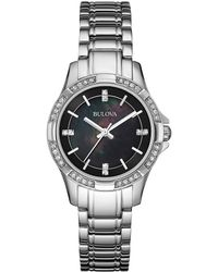 Bulova - Stainless Steel Watch - Lyst