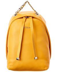 Furla | Spy Bag Mini Leather Backpack | Lyst