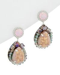 Nakamol - Plated Crystal Earrings - Lyst