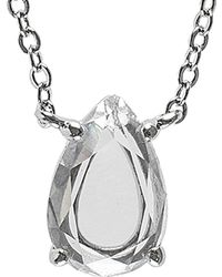 CZ by Kenneth Jay Lane - Pear Necklace - Lyst