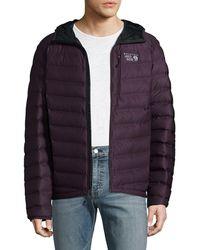 Mountain Hardwear - Stretch Down Hooded Jacket - Lyst