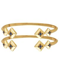 House of Harlow 1960 - 1960 14k Plated Set Of Cuffs - Lyst