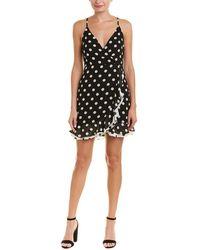 Bardot - Ruffle Faux Wrap Dress - Lyst