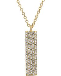 Diana M. Jewels 14k Wavy Diamond Necklace rOrK9Ir3J7