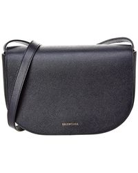Balenciaga - Ville Day Small Leather Shoulder Bag - Lyst