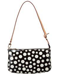 Louis Vuitton - Limited Edition Yayoi Kusama Black Dots Monogram Vernis Leather Pochette Accessoires - Lyst