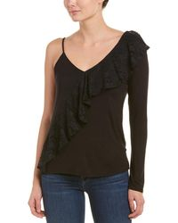 Caleigh & Clover - Lace Ruffle Top - Lyst