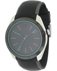 Movado - Men's Silicone Watch - Lyst