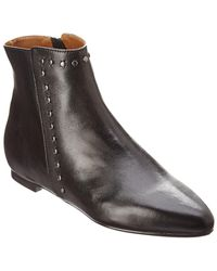 French Sole - Vodka Leather Bootie - Lyst