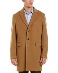 Brooks Brothers - Brooks Brother Camel Hair Coat - Lyst