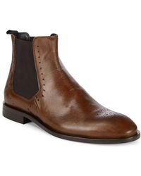 Bacco Bucci - Fabri Leather Chelsea Boot - Lyst