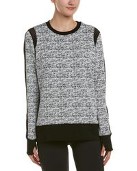 Blanc and Noir - Texture Jumper - Lyst