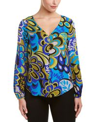 Alice & Trixie - Silk Top - Lyst