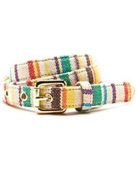 J.McLaughlin - Multi Stripe Woven Belt - Lyst