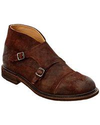 Frye - Men's Jack Monk Suede Boot - Lyst