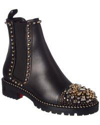 Christian Louboutin - Flat Booties Shoes Women - Lyst