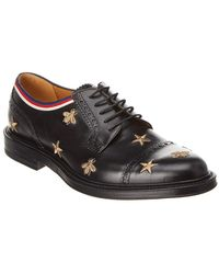 Gucci - Borgue Leather Wingtip Oxford Shoe - Lyst