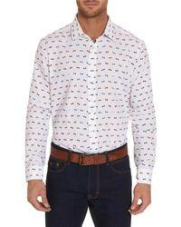 Robert Graham - Bo Classic Fit Woven Shirt - Lyst