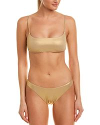 Trina Turk - 2pc Shine Bandeau Set - Lyst