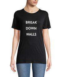 Prabal Gurung - Break Down Walls T-shirt - Lyst