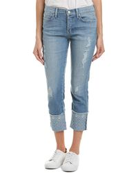 Level 99 - Morgan Sea Rolled Leg Jeans - Lyst