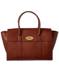 Mulberry - Bayswater Leather Satchel - Lyst