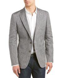 Robert Graham - Avalon Linen-blend Jacket - Lyst