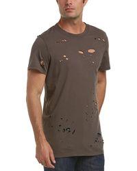 Hudson Jeans - Cutout T-shirt - Lyst