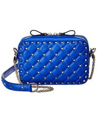 Valentino - Rockstud Spike Leather Camera Bag - Lyst