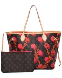 Louis Vuitton - Limited Edition Monogram Canvas Ramages Neverfull Mm - Lyst