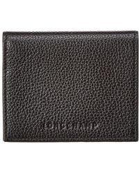 Longchamp - Le Foulonne Leather Coin Purse - Lyst