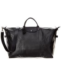 Longchamp - Le Foulonne Xl Leather Travel Bag - Lyst