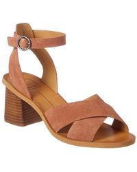 Dolce Vita - Reed Suede Sandal - Lyst