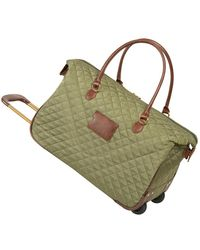 "Anne Klein - Bellevue 20"" Carry-on Wheeled Duffel Bag - Lyst"
