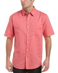 Vintage 1946 - Linen-blend Woven Shirt - Lyst
