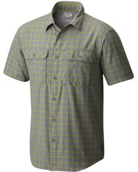 Mountain Hardwear - Canyon Striped Shirt - Lyst