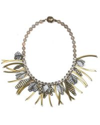 Tataborello | Summer Place Tassel Charm Necklace 21 | Lyst
