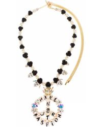 Bijoux De Famille - Make Fashion Not War Rosary Necklace - Lyst