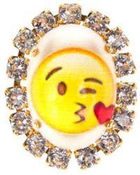 "Bijoux De Famille | ""love Emoji"" Cabochon Pins | Lyst"