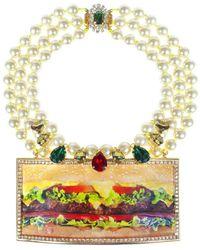 Bijoux De Famille - Deluxe Plastron Necklace - Lyst
