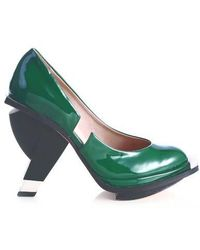 Abcense - Echo Green Court Shoes - Lyst