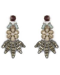 Tataborello - Summer Place Floral Earrings 24 - Lyst