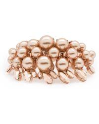 Ellen Conde | Colette Rose Gold Bracelet | Lyst