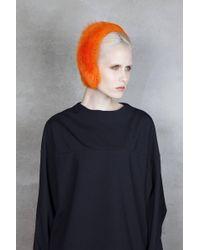 Onar - Magda Fur Headband - Orange - Lyst